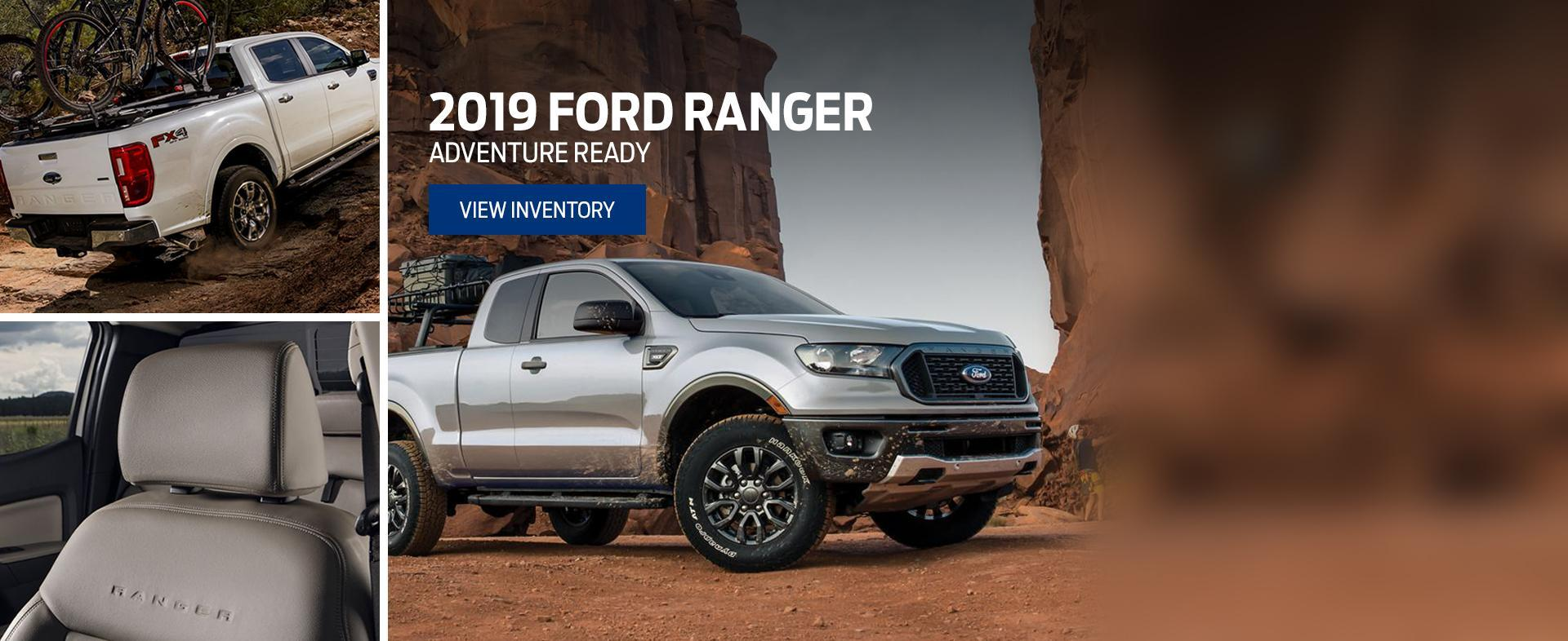 new 2019 silver ford ranger