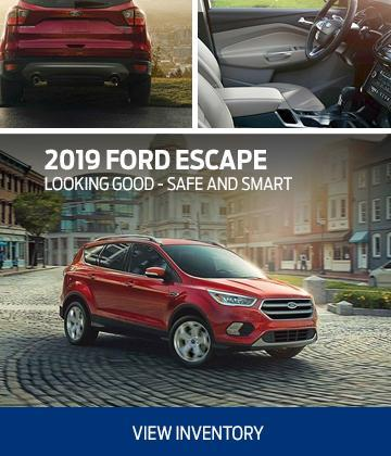 new 2019 red ford escape