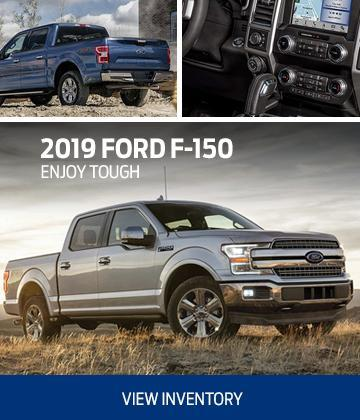 New 2019 silver ford f-150