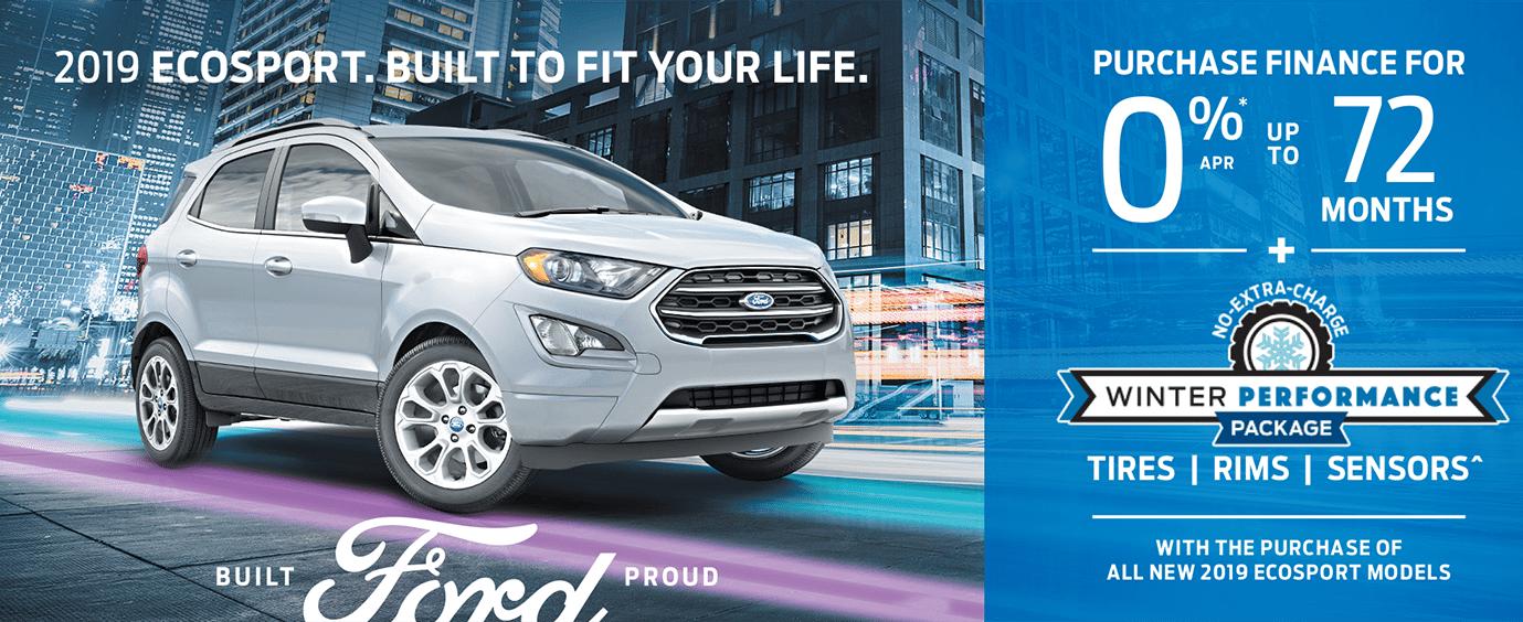 2019 Ecosport Leggat Discovery Ford