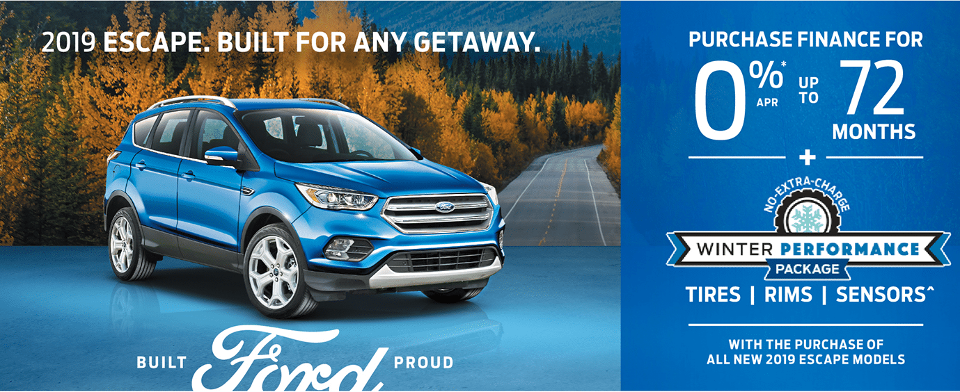2019 Escape Leggat Discovery Ford