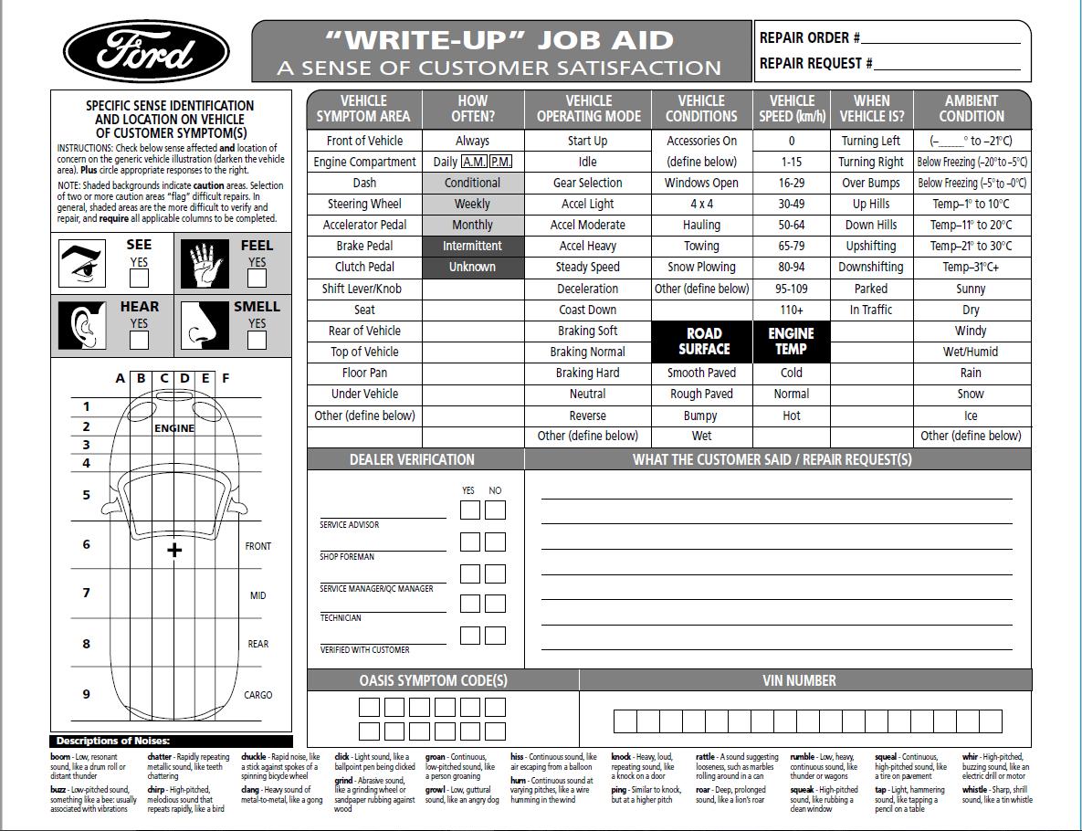 Ford Job Aid image