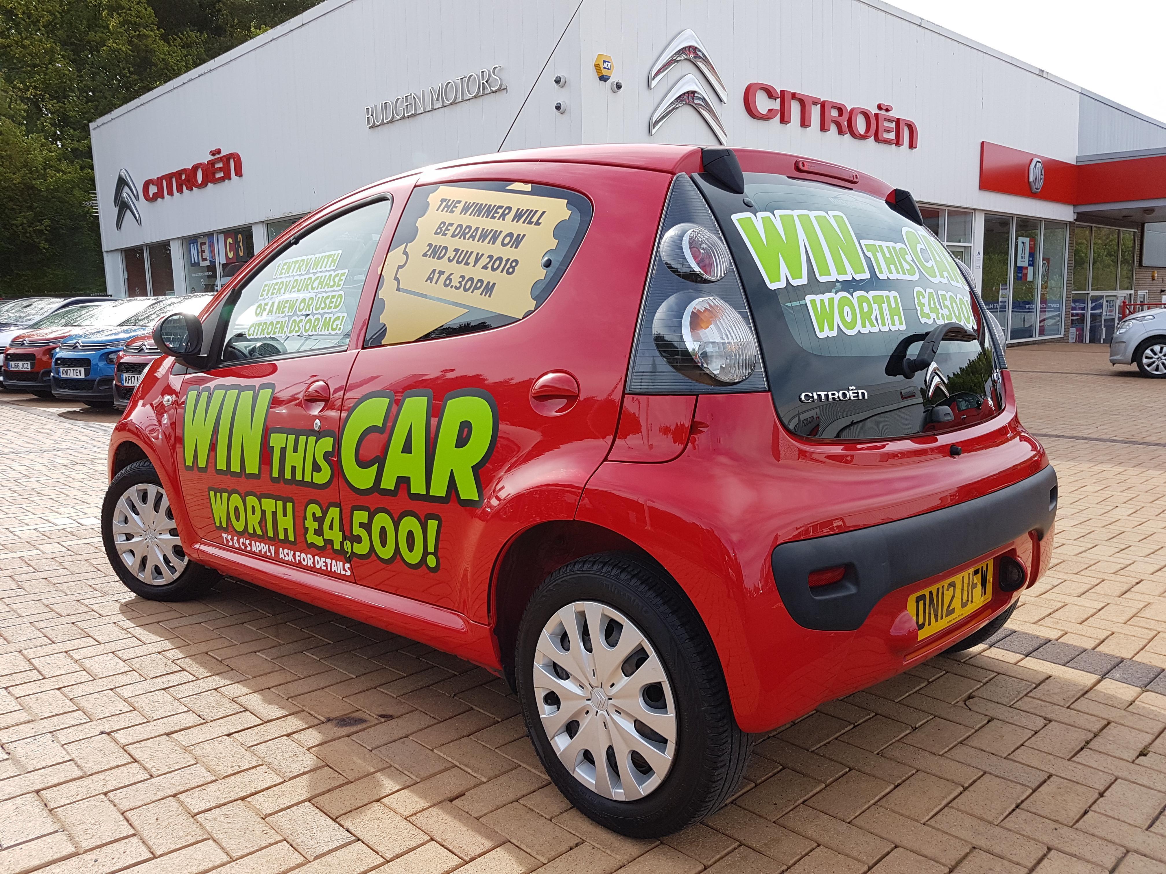 WIN C1 - Budgen Motor Group