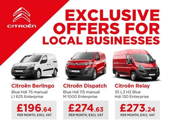 Citroen Fleet Van Offers