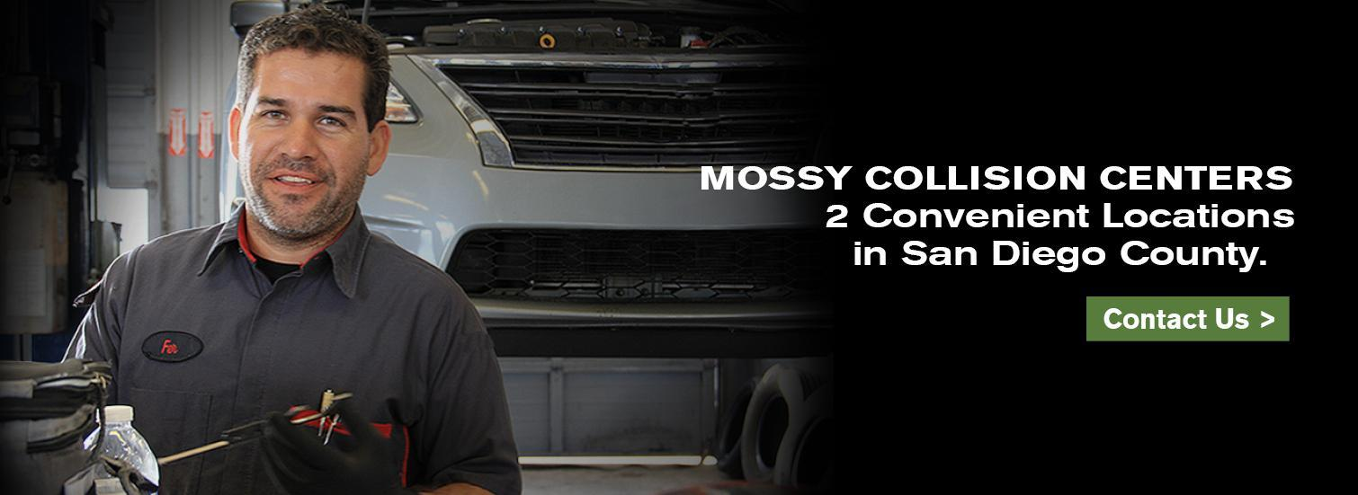 Mossy Collision Centers