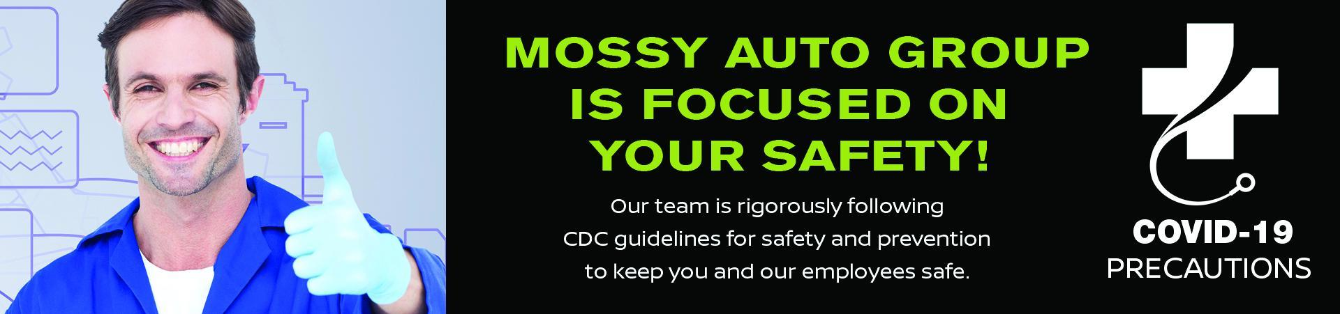 Focused on Your Safety | Mossy Auto Group