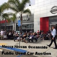 Public Used Car Auction Event