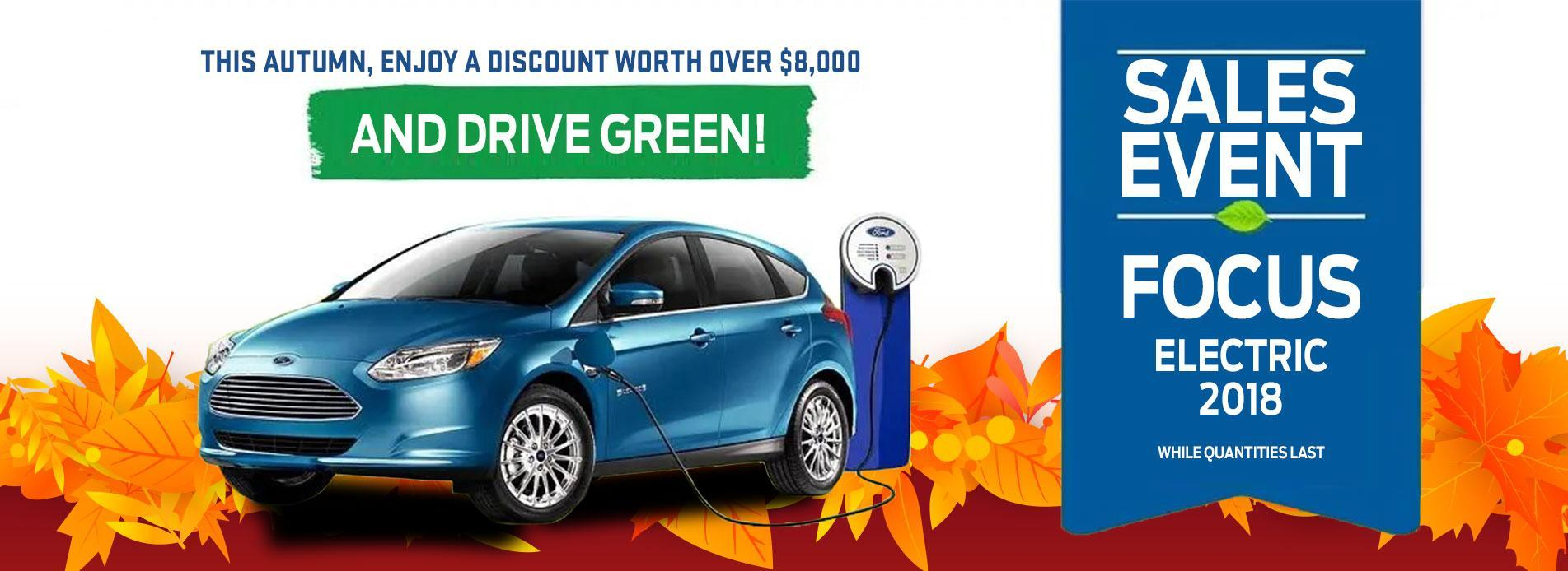 2018 Sales Event Focus Electric