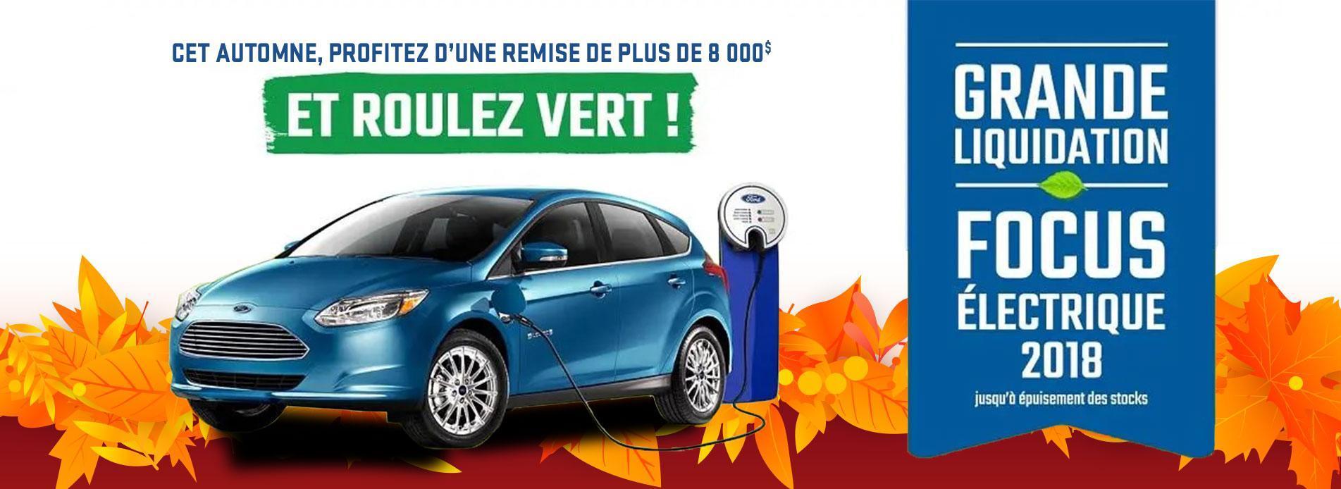 Grande Liquidation Ford Electrique 2018