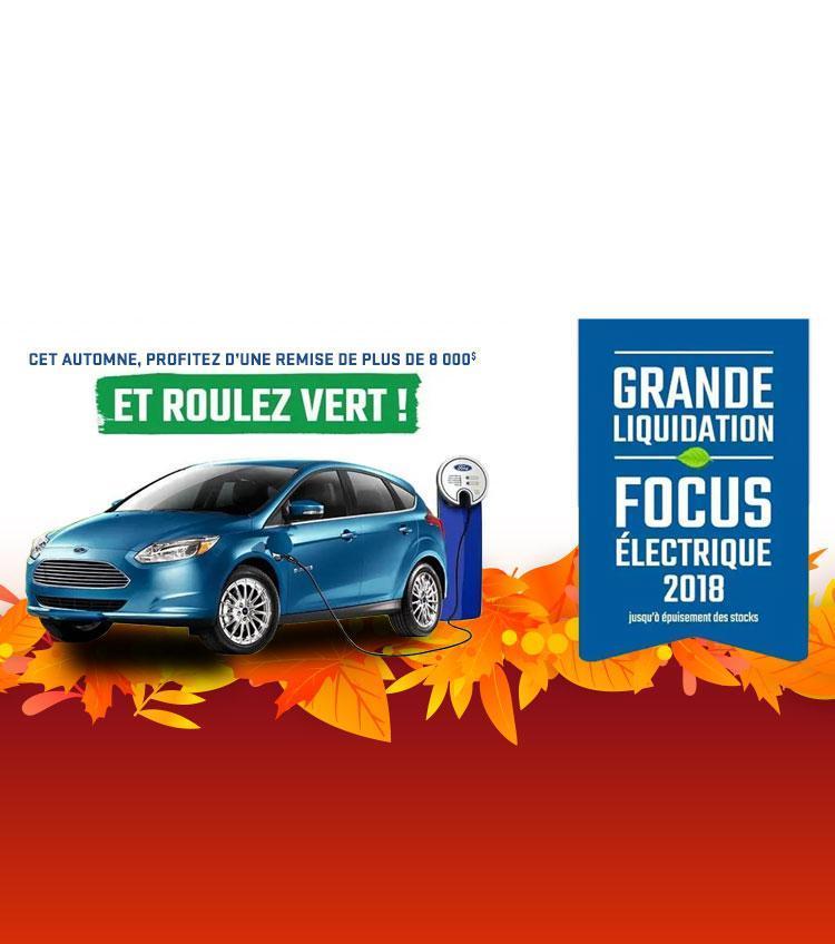 Grande Liquidation Focus Electrique 2018