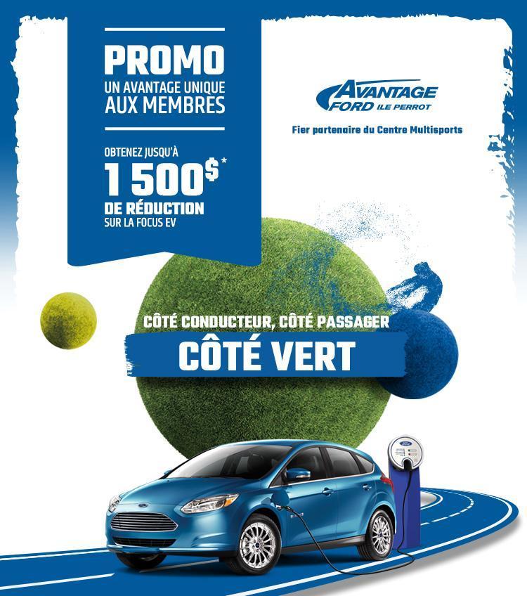 Focus Électrique 2018 $1500 rabais