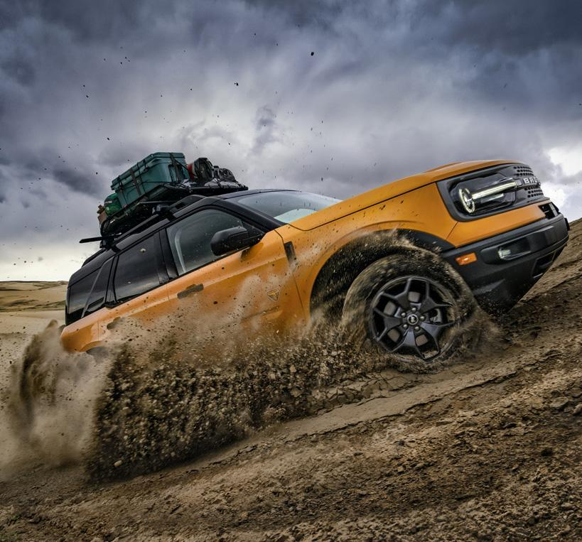 2021 Ford Brocno Sport Overview | South Bay Ford
