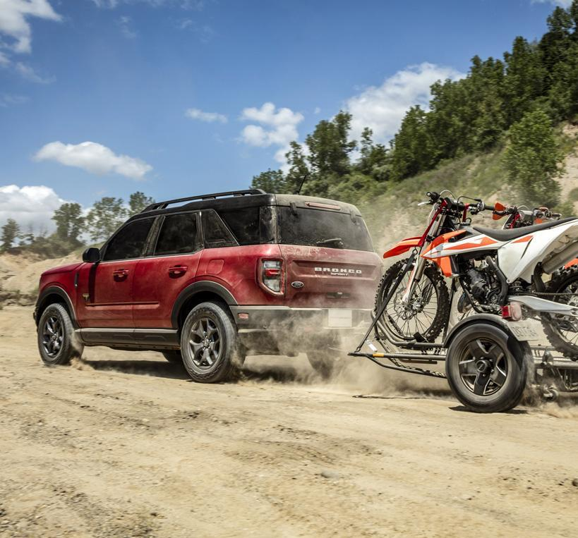 2021 Ford Bronco Sport Exterior | South Bay Ford
