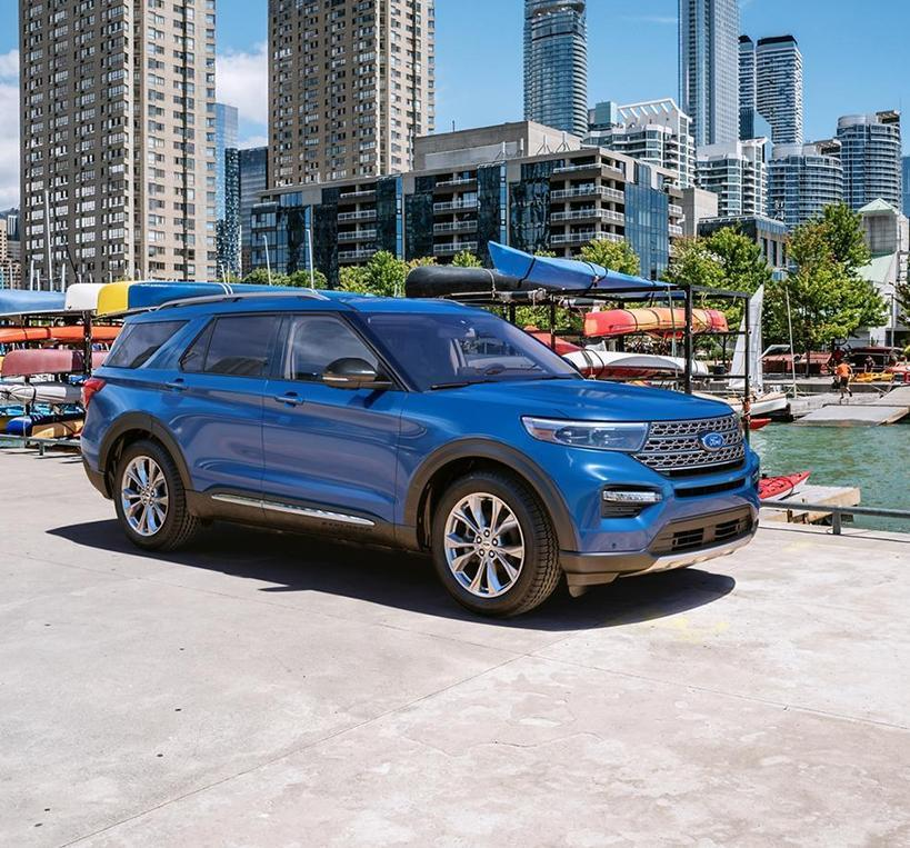 Ford & Lincoln 2021 Explorer image