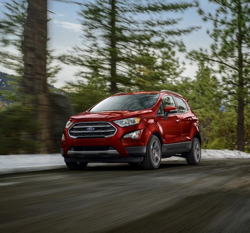 2021 Ford EcoSport Overview | South Bay Ford