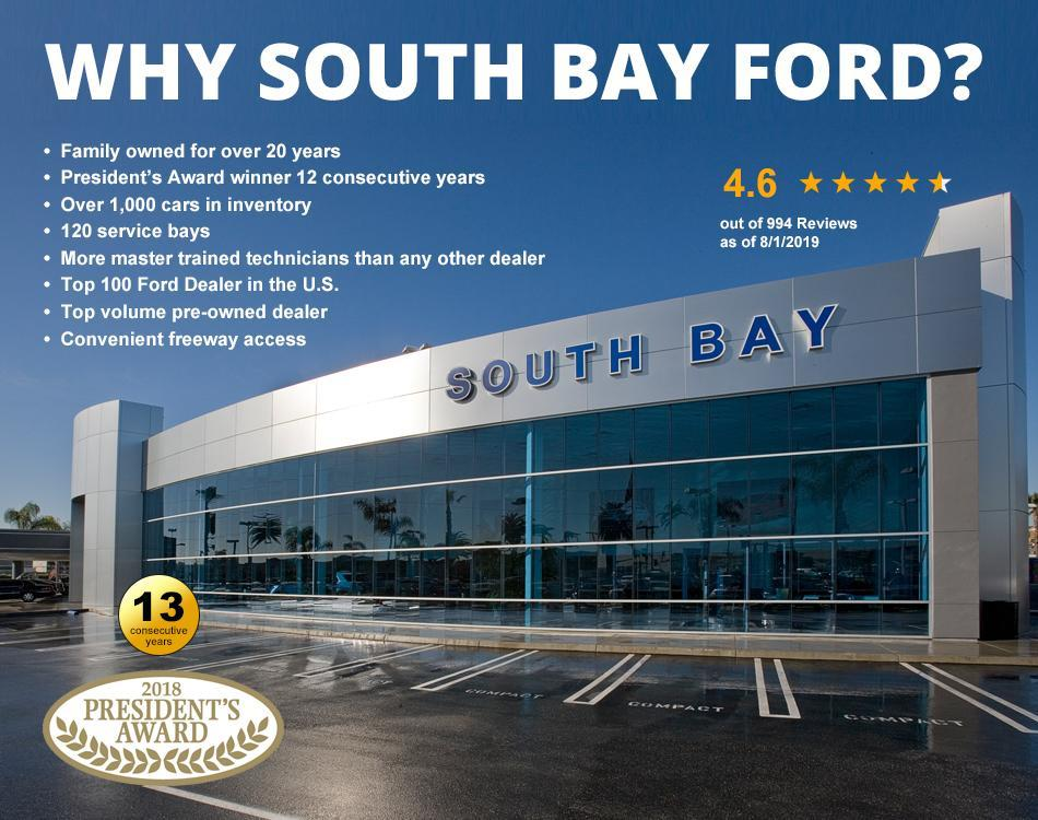 South Bay Ford Service Hours >> New Ford Dealer In Los Angeles Ca South Bay Ford Serving