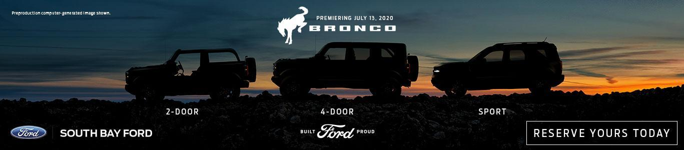All-New Ford Bronco Reveal | South Bay Ford