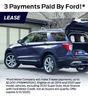 3 Payments by Ford