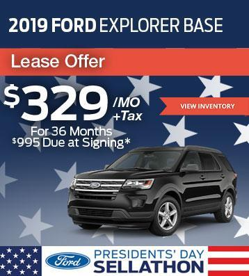 2019 Ford Explorer Lease