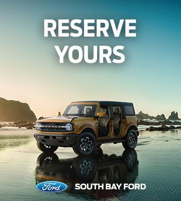 All-New Ford Bronco | South Bay Ford