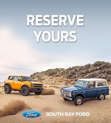Ford Bronco Heritage | South Bay Ford