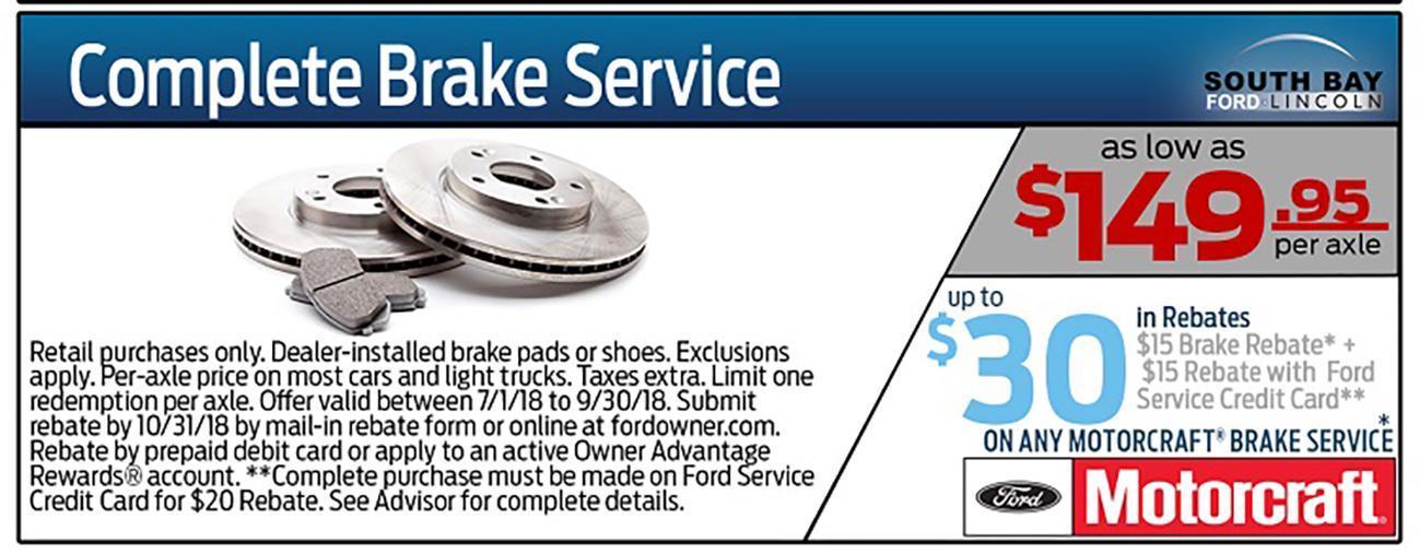 Brake Pad Special