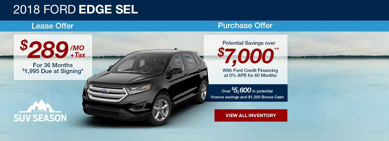 SUV Season at South Bay Ford