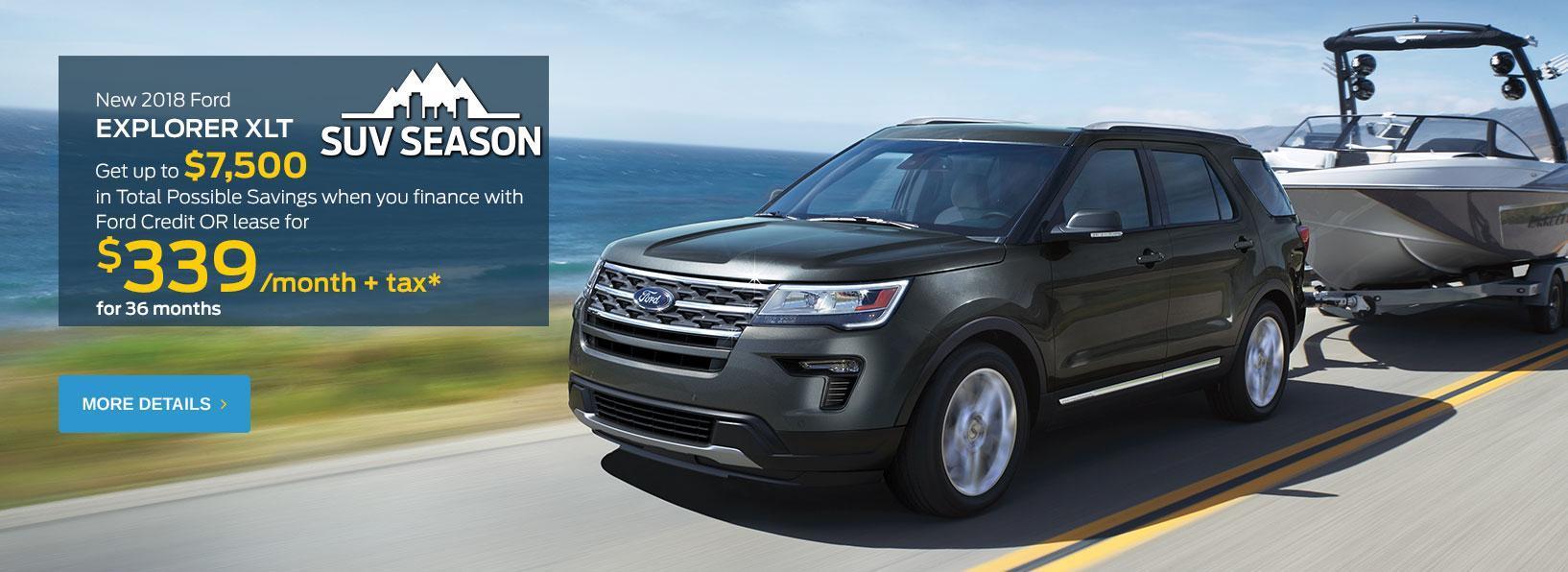 SUV Season Offer
