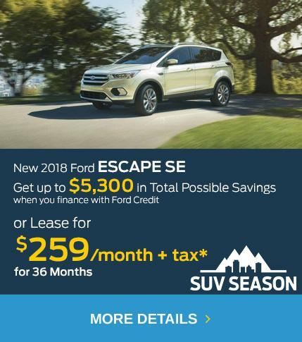 SUV Season Offers