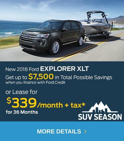 SUV Season Offer