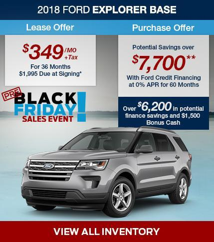 Black Friday Sale on at South Bay Ford