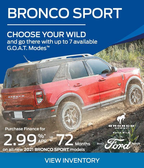 Bronco offer
