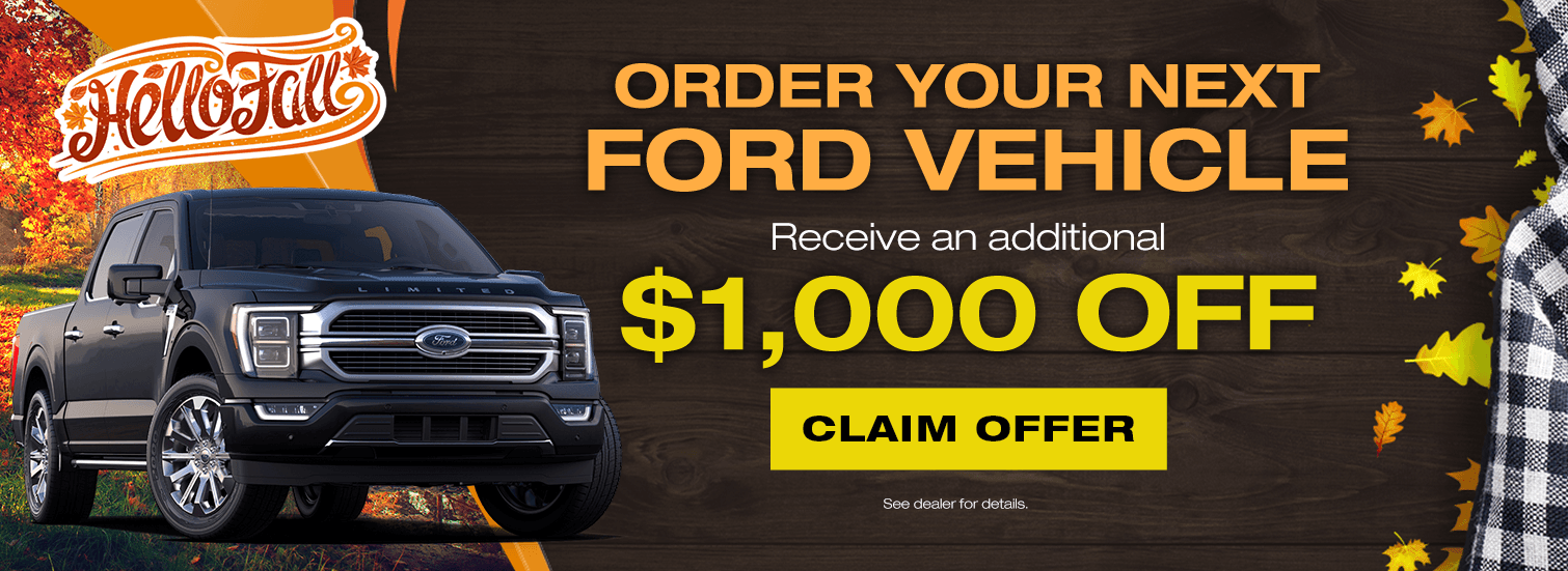 Pre-Order Your Ford