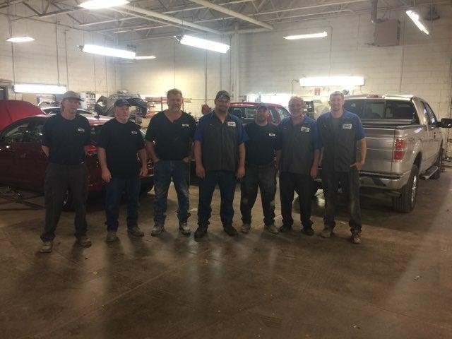 Todd Judy Ford Collision team