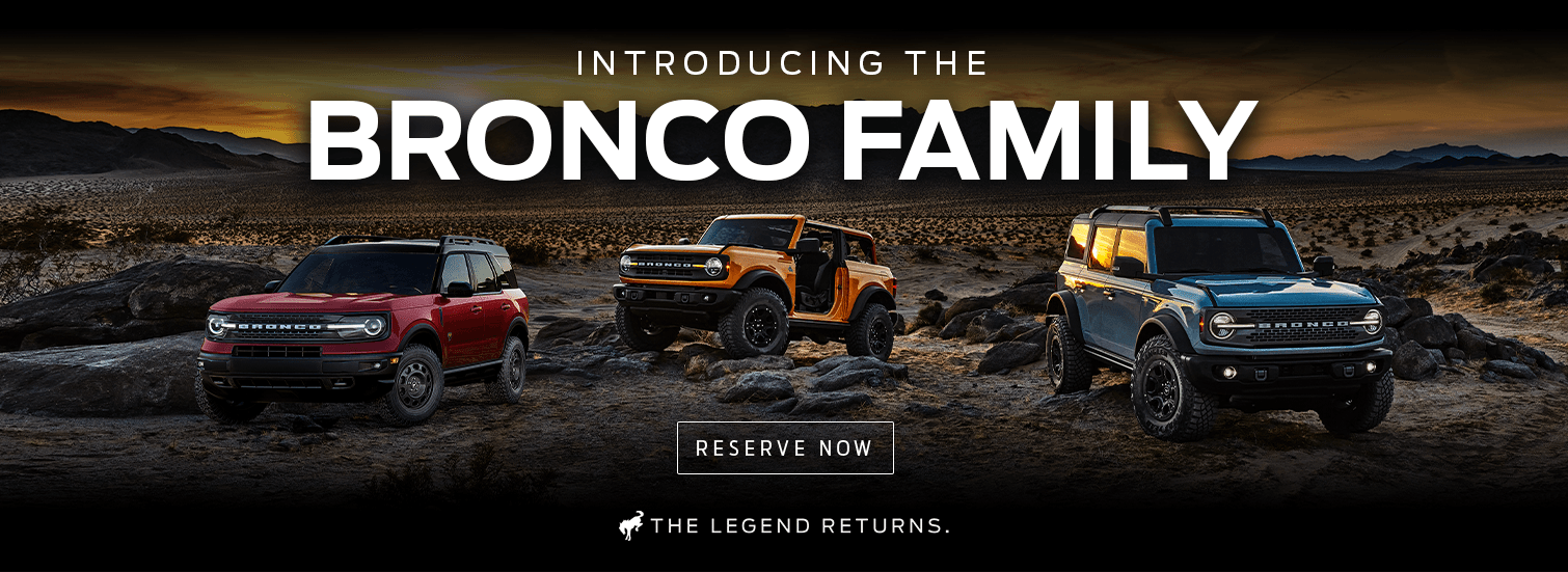 Reserve A 2021 Ford Bronco Today