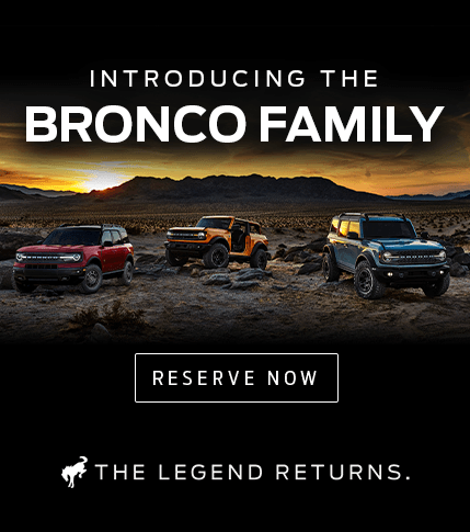 Reserve A 2021 Ford Bronco