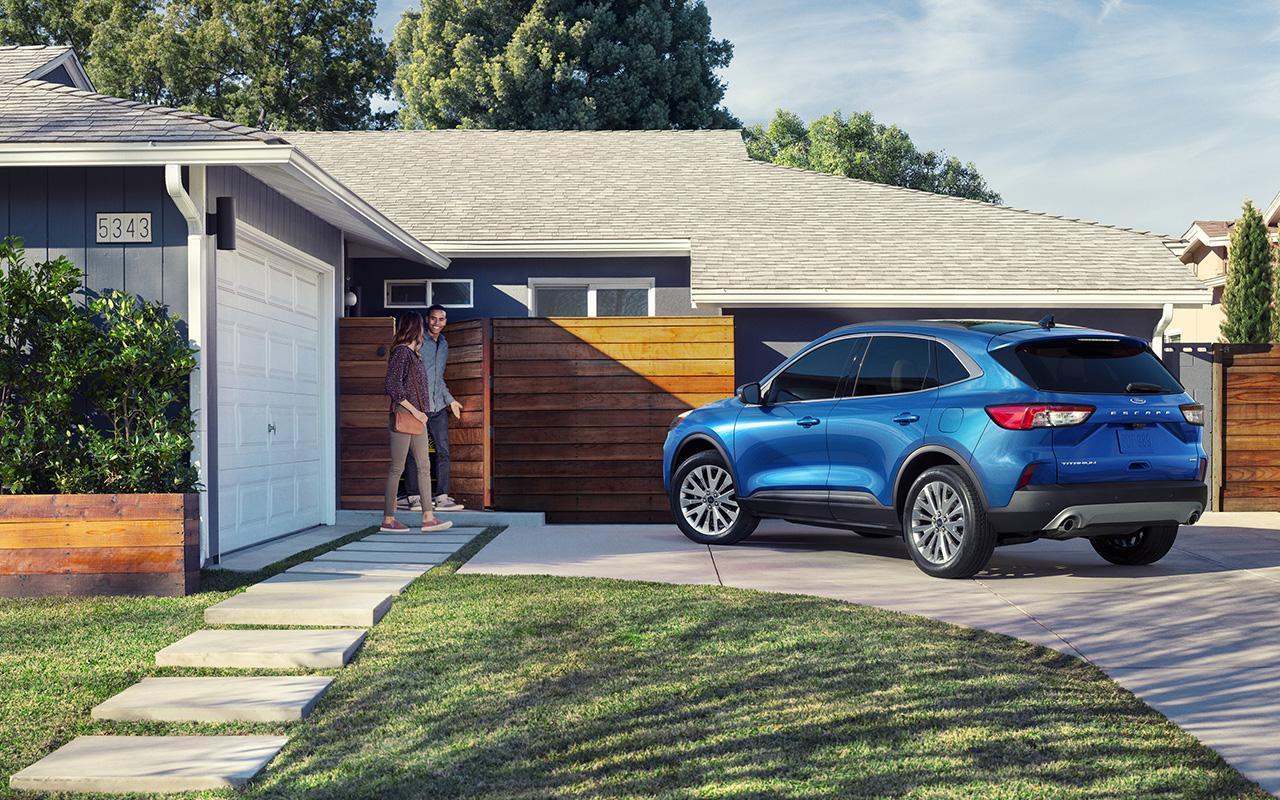 Ford escape titanium velocity blue