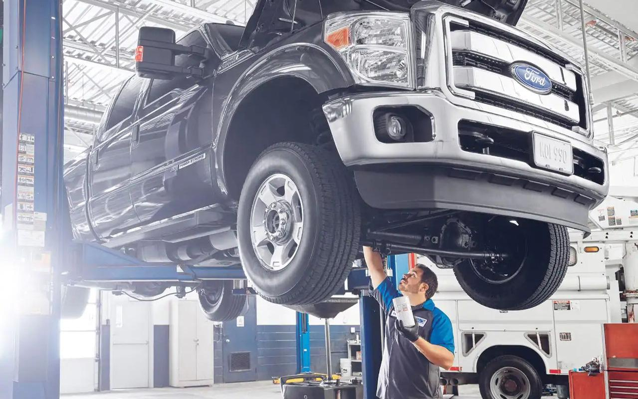 Ford Service Technician working