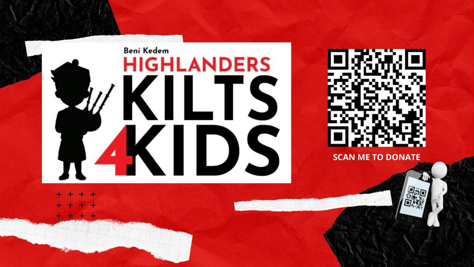 kilts4kids donation