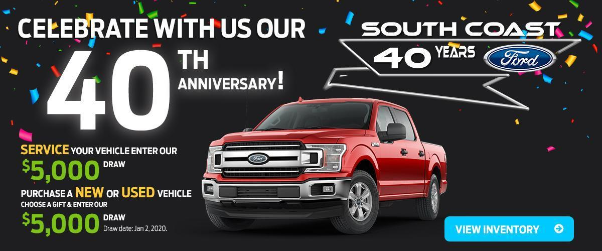 Ford 40th Anniversary Offer image