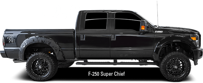 Véhicules exclusifs F-250