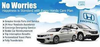 Honda Extended Service Plans