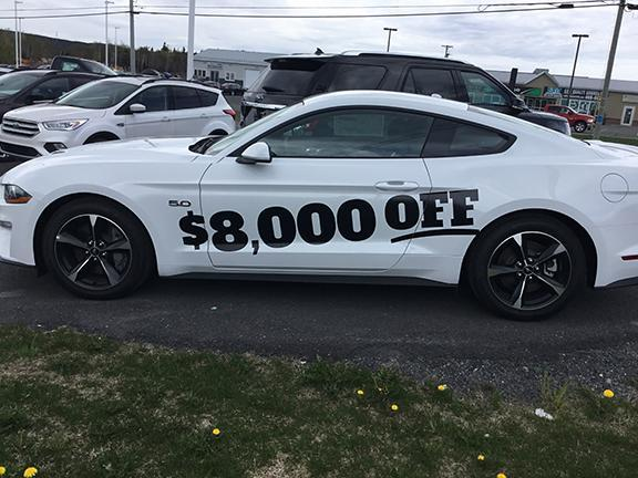 2018 Mustang Clearance