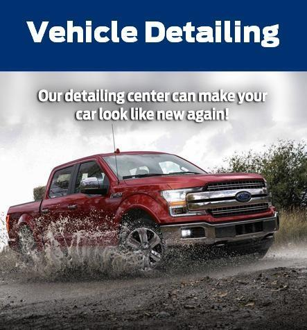Auto detailing at Celebration Ford