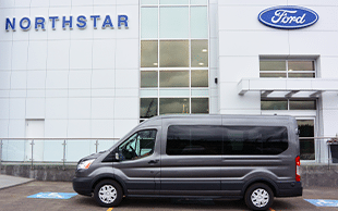Ford & Lincoln Ford Transit Wagon Van at North Star Ford Sales Limited