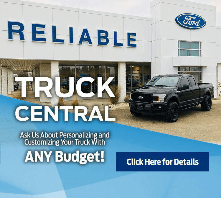 Reliable Ford in Fergus, your truck central dealership
