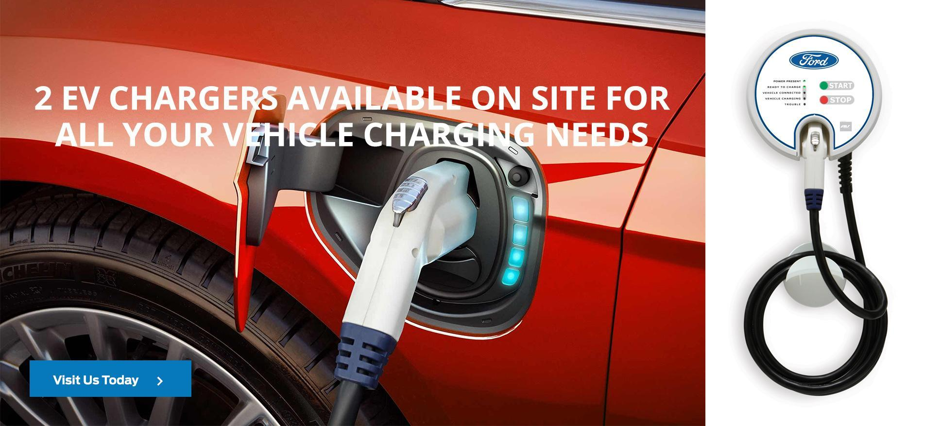 EV Chargers Available