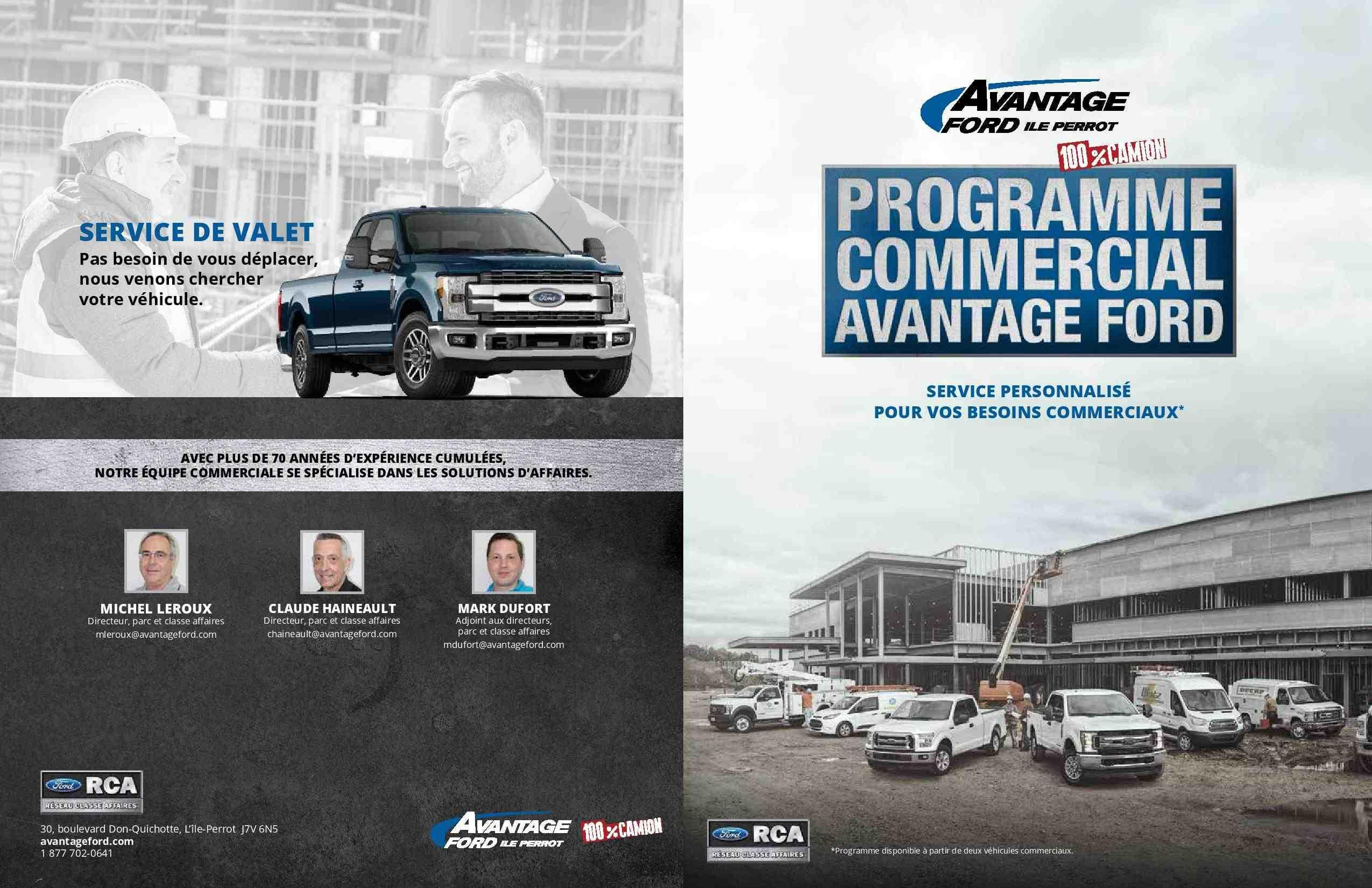 Camions commerciaux Ford