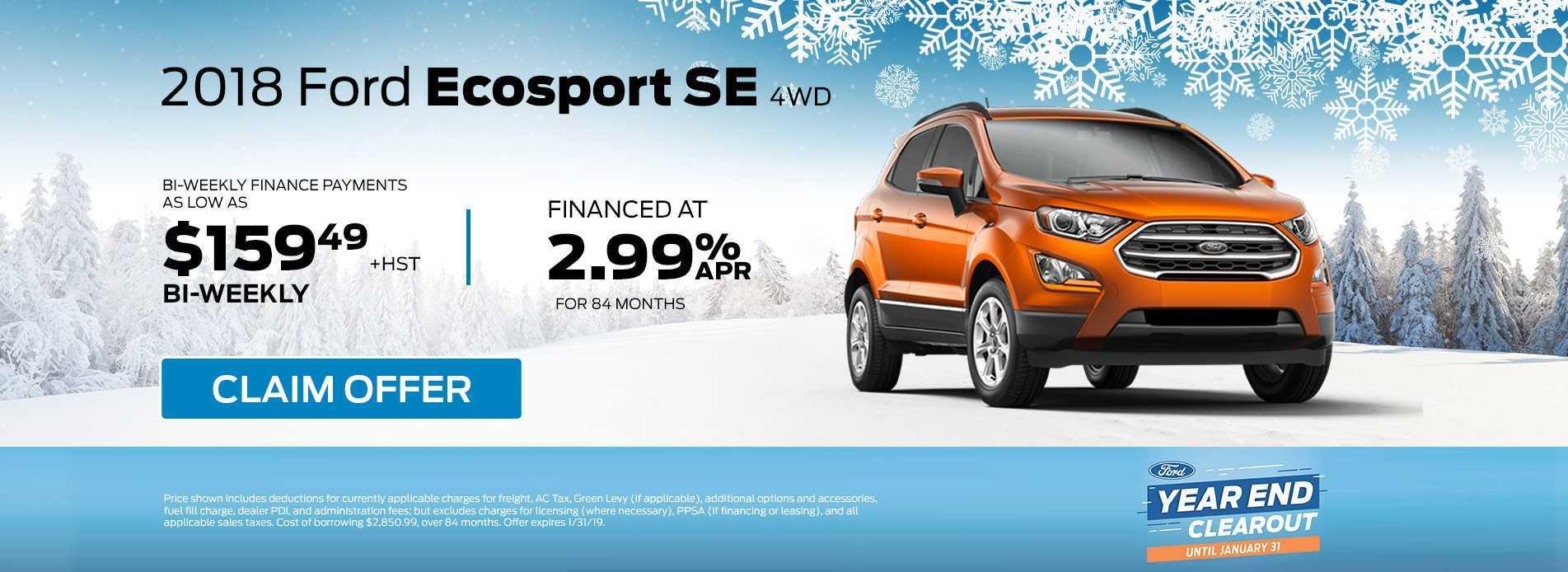 Ecosport January