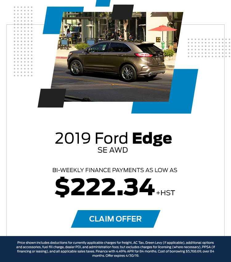 Barrie Ford Edge April